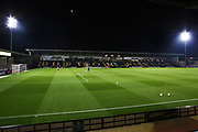 Pirelli Stadium before the EFL Sky Bet League 1 match between Burton Albion and Southend United at the Pirelli Stadium, Burton upon Trent, England on 3 December 2019.