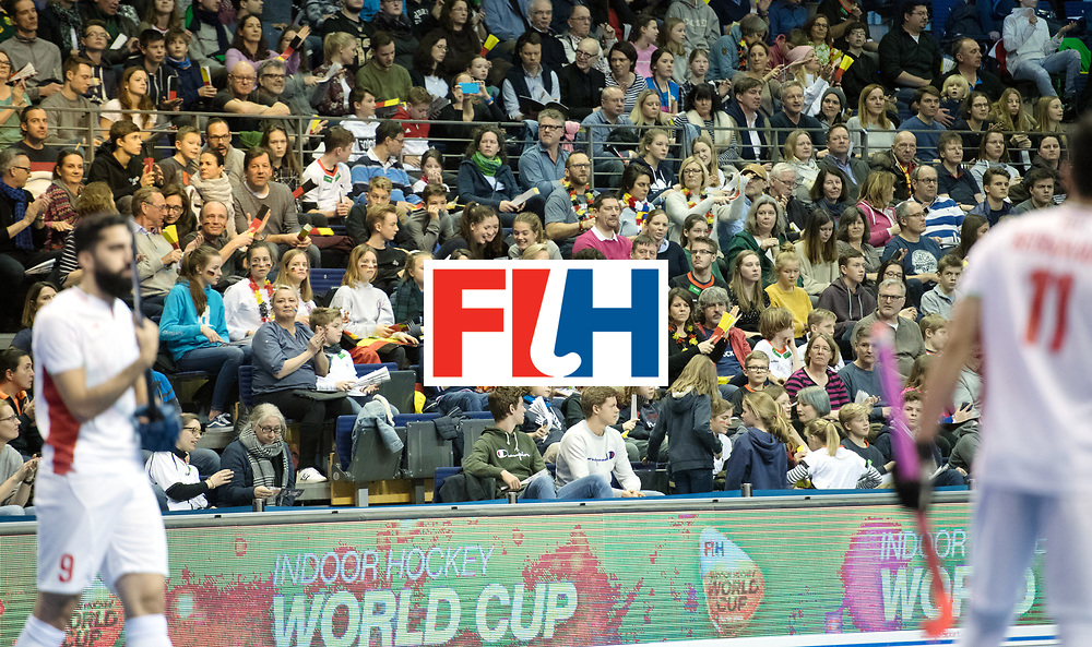 BERLIN - Indoor Hockey World Cup<br /> Bronze: Iran - Australia<br /> foto: Line Up<br /> WORLDSPORTPICS COPYRIGHT FRANK UIJLENBROEK