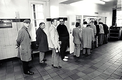 Salvation Army hostel, Nottingham, UK 1989