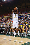 November 25th, 2010:  Anchorage, Alaska - University of Alaska-Anchorage guard Mario Gill (2) attempts a three in the Seawolves 54-86 loss to Weber State in the first round of the Great Alaska Shootout.