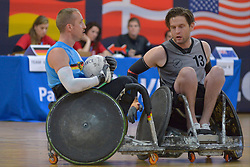Germany V NZL at the 2016 IWRF Rio Qualifiers, Paris, France