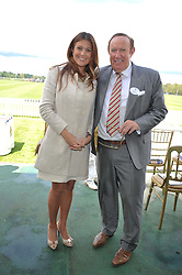 ANDREW NEIL and SUSAN NILSSON at Al Habtoor Royal Windsor Cup Final 2012 at Guards Polo Club, Berkshire on 24th June 2012.