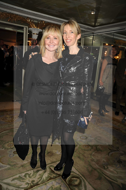 Left to right, LULU and SAM TAYLOR-WOOD at the 2009 South Bank Show Awards held at The Dorchester, Park Lane, London on 20th January 2009.