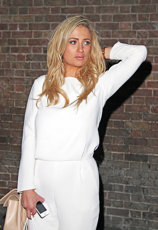 05.MARCH.2013. LONDON<br /> <br /> CHANTELLE HOUGHTON ATTENDS NEW MAGAZINES 10TH BIRTHDAY PARTY AT GILGAMESH BAR IN CAMDEN.<br /> <br /> BYLINE: EDBIMAGEARCHIVE.CO.UK<br /> <br /> *THIS IMAGE IS STRICTLY FOR UK NEWSPAPERS AND MAGAZINES ONLY*<br /> *FOR WORLD WIDE SALES AND WEB USE PLEASE CONTACT EDBIMAGEARCHIVE - 0208 954 5968*