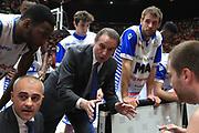 Time out Mia Cantù, EA7 Emporio Armani Milano vs Mia Red October Cantù LBA Serie A 15^ giornata di ritorno stagione 2016/2017 Mediolanum Forum Assago, Milano 7 maggio 2017
