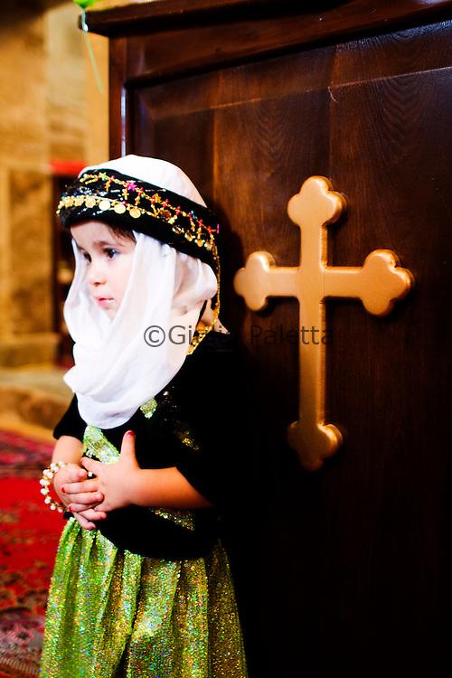 Christian wedding in Mosul, Iraq