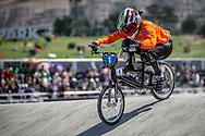 25 & Over Women #1 (KLAUS Lieke) NED at the 2018 UCI BMX World Championships in Baku, Azerbaijan.