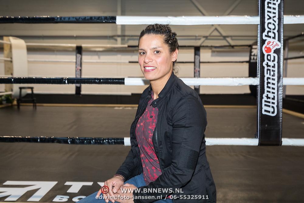 NLD/Rotterdam/20171117 - Opening TYR Boxing, Marichgelle de Jong