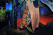 Israel, Haifa, MadaTech The Israel national Museum of Science The Robotic World exhibition. Robot bat