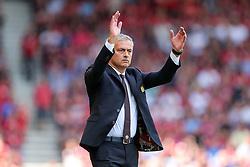 Manchester United manager Jose Mourinho gestures - Rogan Thomson/JMP - 14/08/2016 - FOOTBALL - Vitality Stadium - Bournemouth, England - Bournemouth v Manchester United - Premier League Opening Weekend.