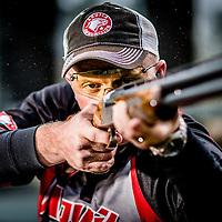 sporting clays shotgun shooter