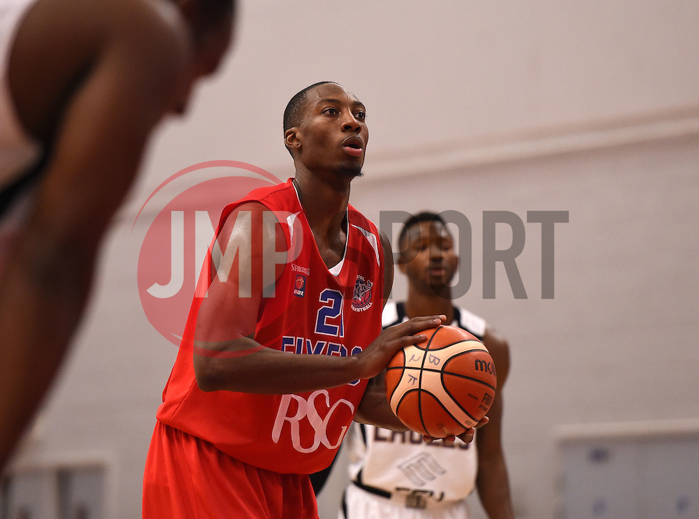 Tyrone Lee of Bristol Flyers  - Photo mandatory by-line: Joe Meredith/JMP - Mobile: 07966 386802 - 10/10/2015 - BASKETBALL - SGS Wise Arena - Bristol, England - Bristol Flyers v Newcastle Eagles - British Basketball League