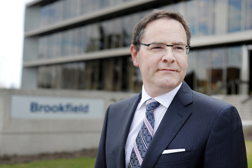 Executive Portrait : Spencer Enright | CEO Brookfield<br /> <br /> Client: Thomson Reuters