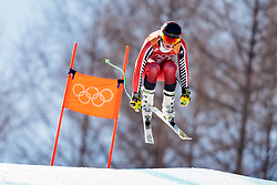 13.02.2018, Jeongseon Alpine Centre, Pyeongchang, KOR, PyeongChang 2018, Ski Alpin, Herren, Kombination, im Bild Broderick Thompson (CAN) // Broderick Thompson of Canada during the Mens Ski Men's Alpine Combined of the Pyeongchang 2018 Winter Olympic Games at the Jeongseon Alpine Centre in Pyeongchang, South Korea on 2018/02/13. EXPA Pictures © 2018, PhotoCredit: EXPA/ Johann Groder