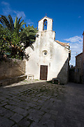 Small church in Korcula, Croatia