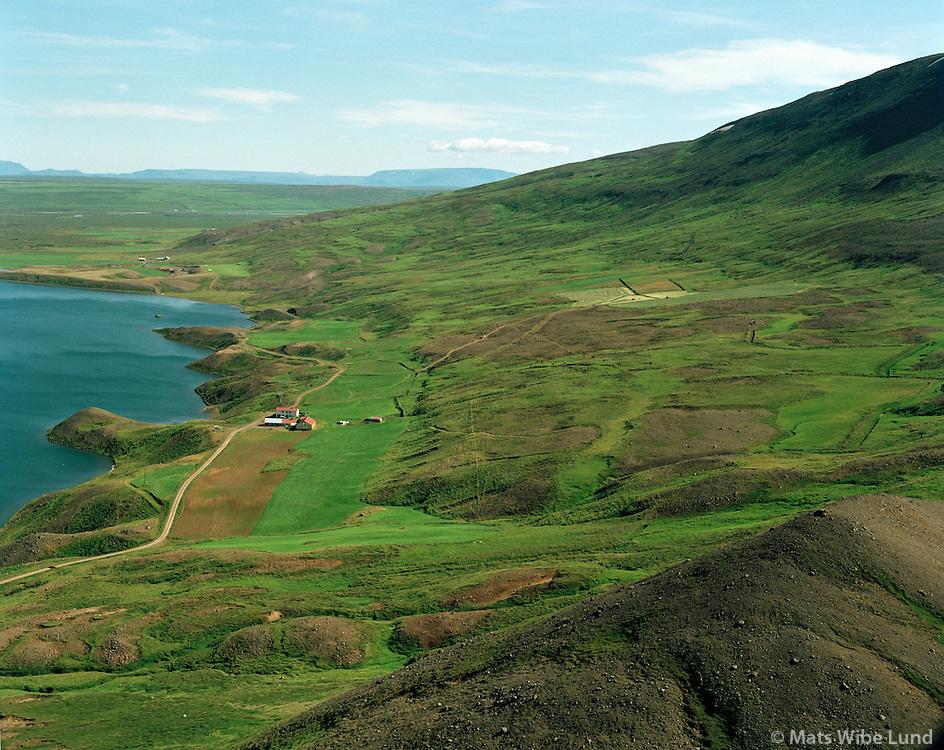 Arnstapi séð til austurs, Þingeyjarsveit áður Ljósavatnshreppur / .Arnstapi viewing east, Thingeyjarsveit former Ljosavatnshreppur