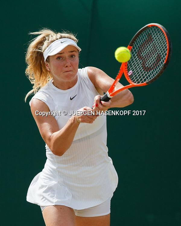 ELINA SVITOLINA (UKR)<br /> <br /> Tennis - Wimbledon 2017 - Grand Slam ITF / ATP / WTA -  AELTC - London -  - Great Britain  - 7 July 2017.