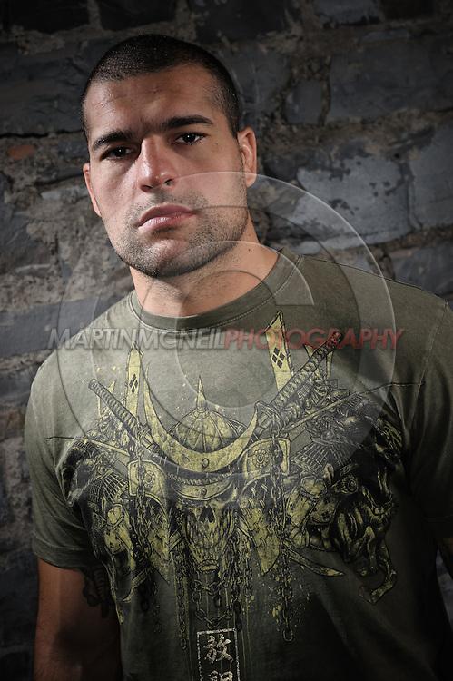 "A portrait of mixed martial arts athlete Mauricio ""Shogun"" Rua"
