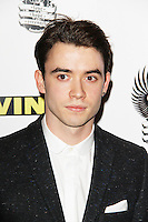 Jamie Blackley, Vinyl - London Gala Screening, Empire Cinema Leicester Square, London UK, 12 March 2013, (Photo by Richard Goldschmidt)