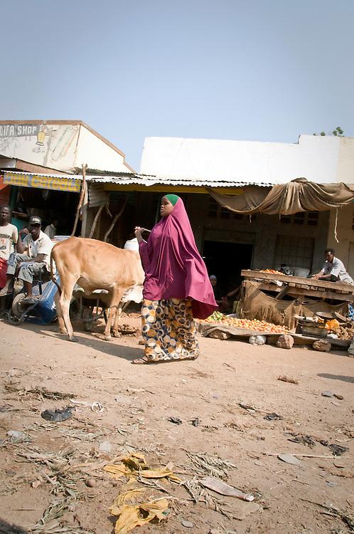 Market, Garissa, North Eastern Kenya.