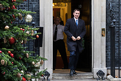 © Licensed to London News Pictures. 05/12/2017. London, UK. Health Secretary Jeremy Hunt leaves 10 Downing Street after the weekly Cabinet meeting. Photo credit: Rob Pinney/LNP