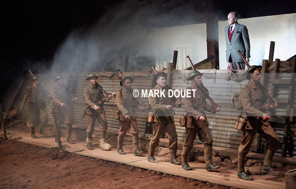 Mametz by National Theatre Wales. Director<br /> Matthew Dunster