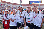 SO Czech Republic Team while Closing Ceremony of the Special Olympics World Games Los Angeles 2015 at the Los Angeles Coliseum Stadium on ninth day, August 2, 2015 in Los Angeles, USA.<br /> <br /> USA, Los Angeles, August 2, 2015<br /> <br /> Picture also available in RAW (NEF) or TIFF format on special request.<br /> <br /> For editorial use only. Any commercial or promotional use requires permission.<br /> <br /> Adam Nurkiewicz declares that he has no rights to the image of people at the photographs of his authorship.<br /> <br /> Mandatory credit:<br /> Photo by &copy; Adam Nurkiewicz / Mediasport