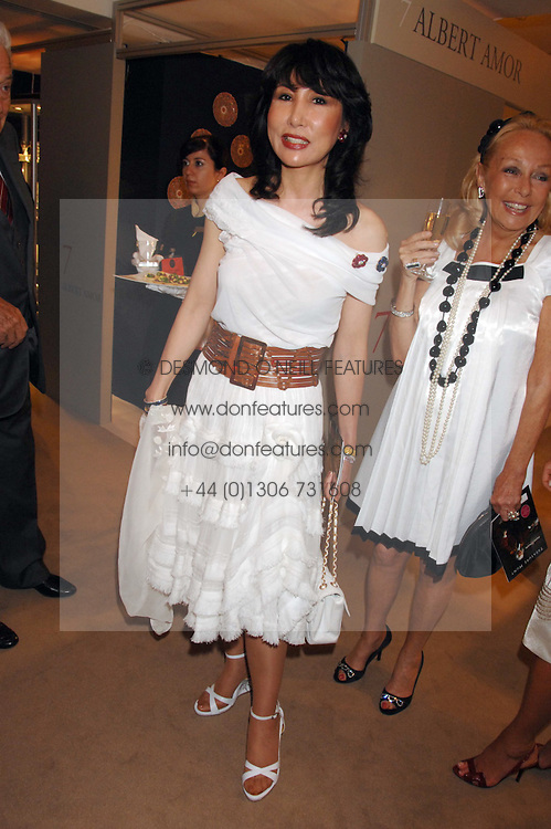 MRS NANCY MILLER-JONG at the Grosvenor House Art & Antiques Fair Gala evening in aid of the UKs oldest childrens charity CORAM held at the Grosvenor House Hotel, Park Lane, London on 14th June 2007.<br /><br />NON EXCLUSIVE - WORLD RIGHTS