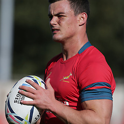 GATESHEAD, ENGLAND - SEPTEMBER 29: Jesse Kriel during the South African national rugby training session at Gateshead International Stadium on September 29, 2015 in Gateshead, England. (Photo by Steve Haag/Gallo Images)