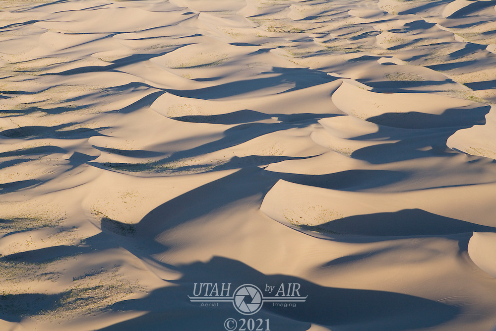 Sand dunes at Little Sahara State Park, Utah