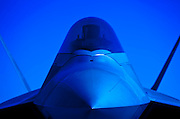 F-22 Raptor nose.  Dobbins Air Reserve Base, Marietta, Georgia.  Created by aviation photographer John Slemp of Aerographs Aviation Photography. Clients include Goodyear Aviation Tires, Phillips 66 Aviation Fuels, Smithsonian Air & Space magazine, and The Lindbergh Foundation.  Specialising in high end commercial aviation photography and the supply of aviation stock photography for commercial and marketing use.