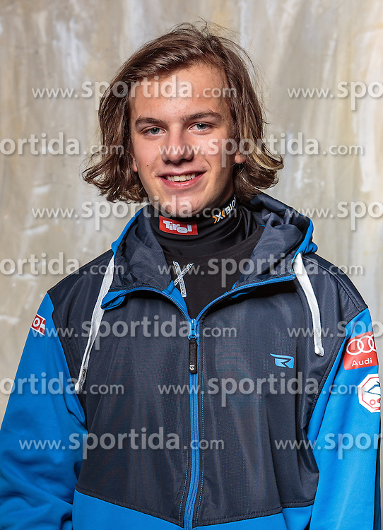 08.10.2016, Olympia Eisstadion, Innsbruck, AUT, OeSV Einkleidung Winterkollektion, Portraits 2016, im Bild Marco Ladner, Freestyle, Herren // during the Outfitting of the Ski Austria Winter Collection and official Portrait Photoshooting at the Olympia Eisstadion in Innsbruck, Austria on 2016/10/08. EXPA Pictures © 2016, PhotoCredit: EXPA/ JFK
