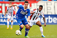 Onderwerp/Subject: Willem II - AZ Alkmaar - Eredivisie<br /> Reklame:  <br /> Club/Team/Country: <br /> Seizoen/Season: 2012/2013<br /> FOTO/PHOTO: Genaro SNIJDERS (R) of Willem II in duel with Nick VIERGEVER (L) of AZ Alkmaar. (Photo by PICS UNITED)<br /> <br /> Trefwoorden/Keywords: <br /> #04 $94 ±1355244121349<br /> Photo- & Copyrights © PICS UNITED <br /> P.O. Box 7164 - 5605 BE  EINDHOVEN (THE NETHERLANDS) <br /> Phone +31 (0)40 296 28 00 <br /> Fax +31 (0) 40 248 47 43 <br /> http://www.pics-united.com <br /> e-mail : sales@pics-united.com (If you would like to raise any issues regarding any aspects of products / service of PICS UNITED) or <br /> e-mail : sales@pics-united.com   <br /> <br /> ATTENTIE: <br /> Publicatie ook bij aanbieding door derden is slechts toegestaan na verkregen toestemming van Pics United. <br /> VOLLEDIGE NAAMSVERMELDING IS VERPLICHT! (© PICS UNITED/Naam Fotograaf, zie veld 4 van de bestandsinfo 'credits') <br /> ATTENTION:  <br /> © Pics United. Reproduction/publication of this photo by any parties is only permitted after authorisation is sought and obtained from  PICS UNITED- THE NETHERLANDS