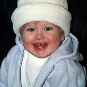 Diana Janssen met hoed