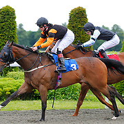 Midnight Feast and Thomas Brown winning the 6.10 race