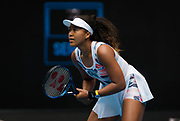 Naomi Osaka of Japan in action during her second round match at the 2020 Australian Open, WTA Grand Slam tennis tournament on January 22, 2020 at Melbourne Park in Melbourne, Australia - Photo Rob Prange / Spain ProSportsImages / DPPI / ProSportsImages / DPPI