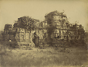 Lankatilake Image House at Polonnaruwa.<br /> Skeen & Co. Photographs of the historical sites of Ceylon.