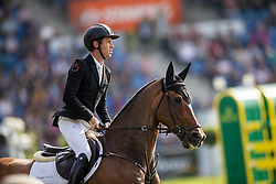 Brash Scott, GBR, Hello Franklin<br /> CHIO Aachen 2019<br /> Weltfest des Pferdesports<br /> <br /> © Hippo Foto - Dirk Caremans<br /> Brash Scott, GBR, Hello Franklin