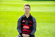 Royal London One-Day Cup kit portrait of Eddie Byron during the Somerset County Cricket Club PhotoCall 2017 at the Cooper Associates County Ground, Taunton, United Kingdom on 5 April 2017. Photo by Graham Hunt.