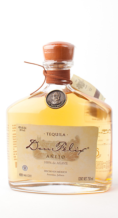 Don Felix anejo -- Image originally appeared in the Tequila Matchmaker: http://tequilamatchmaker.com