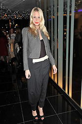 POPPY DELEVINGNE at a party to celebrate the 15th birthday of Vogue.com held at W Hotel, Leicester Square, London W1 on 17th February 2011.