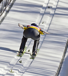 06.02.2011, Heini Klopfer Skiflugschanze, Oberstdorf, GER, FIS World Cup, Ski Jumping, Teamwettbewerb, Probedurchgang, im Bild Thomas Morgenstern (AUT) , during ski jump at the ski jumping world cup Trail round in Oberstdorf, Germany on 06/02/2011, EXPA Pictures © 2011, PhotoCredit: EXPA/ P. Rinderer