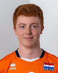 21-12-2018 NED: Photoshoot selection of Orange Young Boys, Arnhem <br /> Orange Young Boys 2018 - 2019 / Thomas van Bladel #6