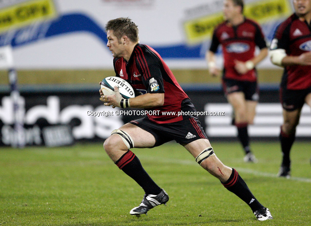 Richie McCaw. Super 14 Final, Crusaders v Waratahs, AMI Stadium, Christchurch, Saturday 31 May 2008. Photo: Tim Hales/PHOTOSPORT