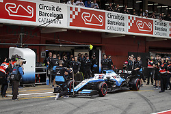 February 20, 2019 - Barcelona, #63 George Russell (G,  #63 George Russell (GBR Team W, Spain, #63 George Russell (GBR Team Williams - 63 RUSSELL George (gbr), Williams Racing F1 FW42, action during Formula 1 winter tests from February 18 to 21, 2019 at Barcelona, Spain - Photo  /  Motorsports: FIA Formula One World Championship 2019, Test in Barcelona,, #63 George Russell (GBR Team Williams) (Credit Image: © Hoch Zwei via ZUMA Wire)