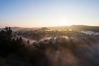 Aerial San Mateo, California.