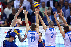 IVAN ZAYTSEV SPIKES<br /> ITALY VS SLOVENIA<br /> MEN'S VOLLEYBALL WORLD CHAMPIONSHIPS <br /> Florence September 18, 2018