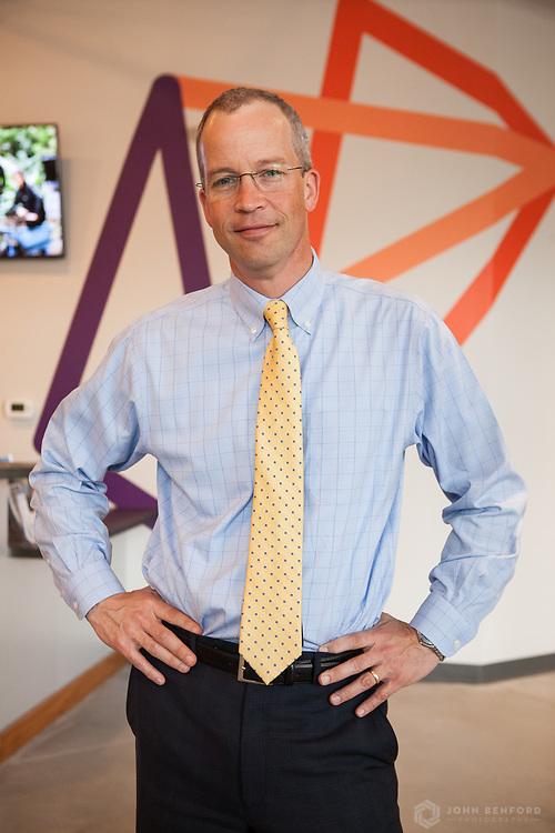 Brad Paige, President and CEO of Kennebunk Savings Bank