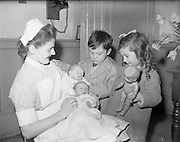 Mrs McDonnell of Church St. gives birth to a set of Leap Year Twins.29/02/1969