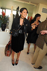 LISA MOORISH at a party to celebrate the publication of 'All That Glitters' by Pearl Lowe held at the May Fair Hotel, London on 8th July 2007.<br />